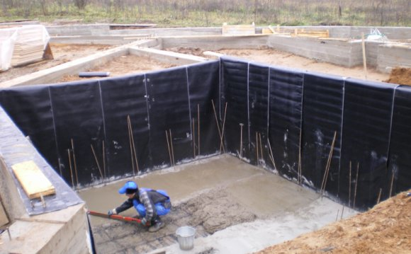 Гидроизоляция в строительстве: